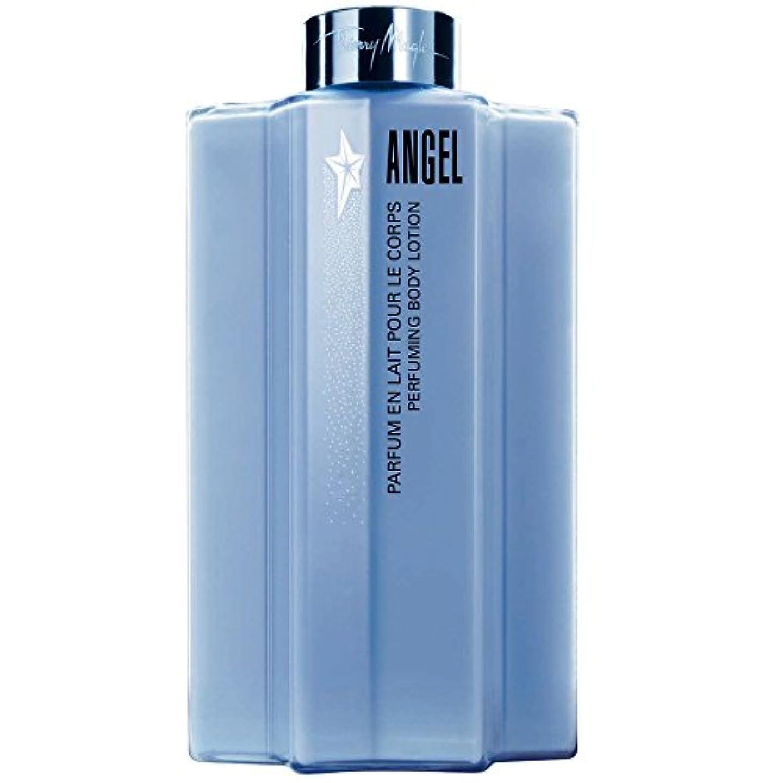 慈悲スポンジスズメバチティエリー?ミュグレー天使のボディローション (Thierry Mugler) (x6) - Thierry Mugler Angel Body Lotion (Pack of 6) [並行輸入品]