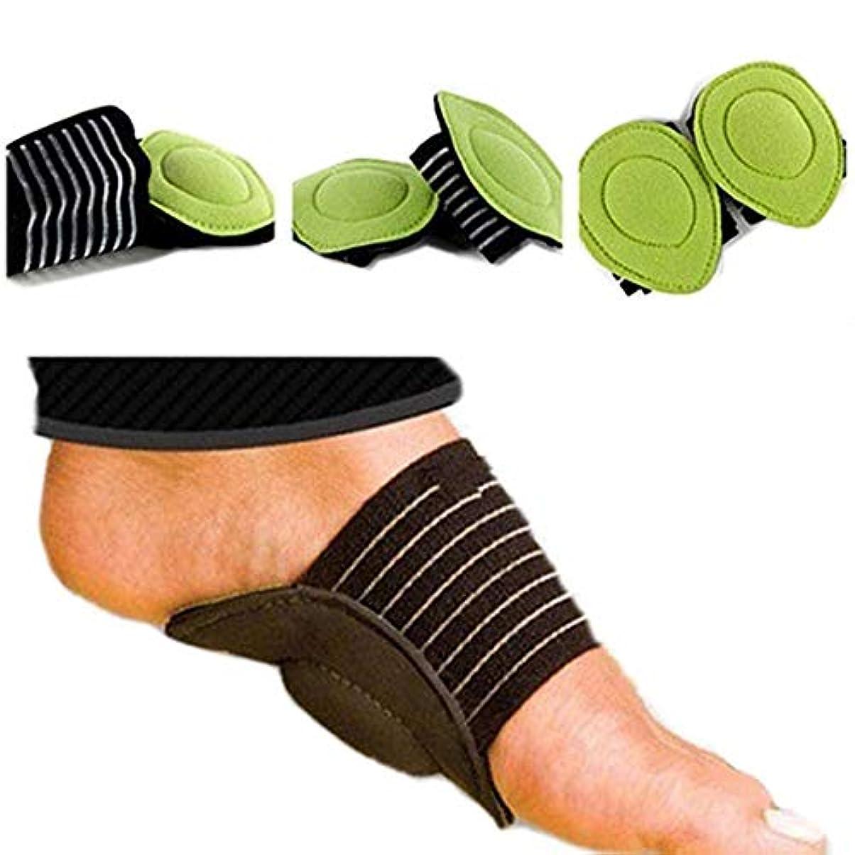 5ペア足ヒールの痛みを軽減足底筋膜炎のインソールパッドアーチサポートシューズインサート