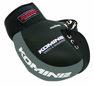 コミネ(Komine) バイク用ハンドルカバー ネオプレンハンドルウォーマー ブラック/グレー フリー 09-021 AK-021