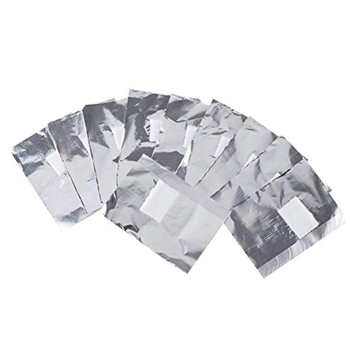 変な頑丈その後Frcolor ネイルオフ ジェルオフリムーバー アクリルUVジェル ネイルポリッシュをきれいにオフする ジェル 使い捨て コットン付きアルミホイル ネイル用品 キューティクル 200枚