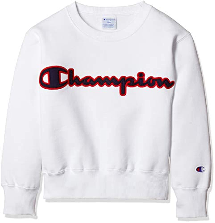 [チャンピオン] ビッグロゴ スウェットシャツ CS4791 ボーイズ