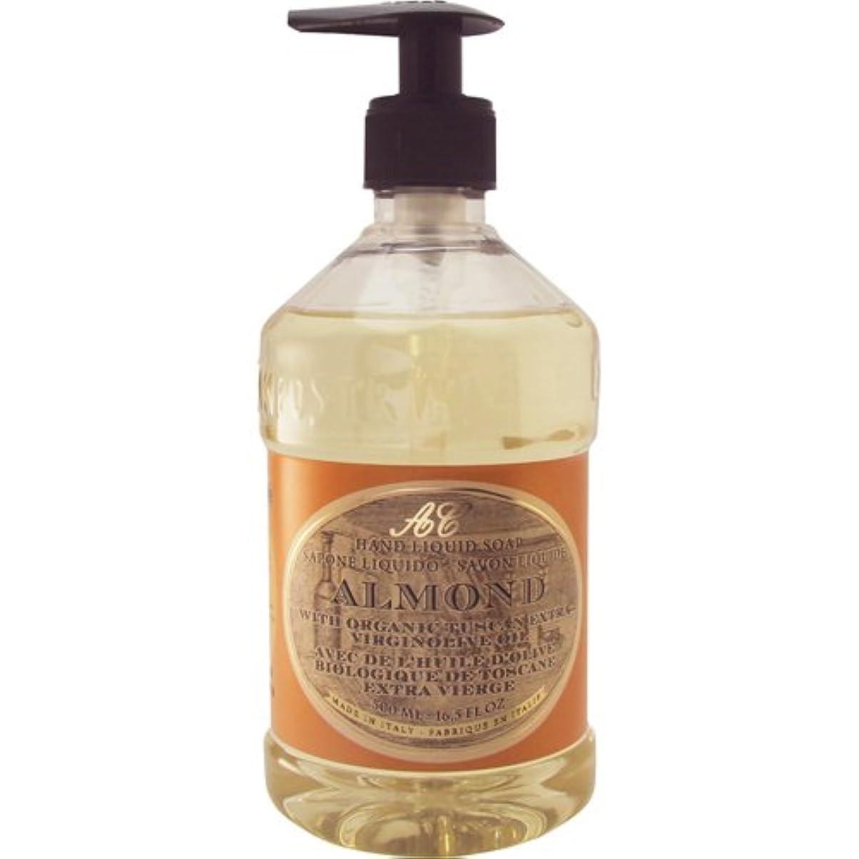 単語設計スキャンダルSaponerire Fissi レトロシリーズ Liquid Soap リキッドソープ 500ml Almond アーモンドオイル