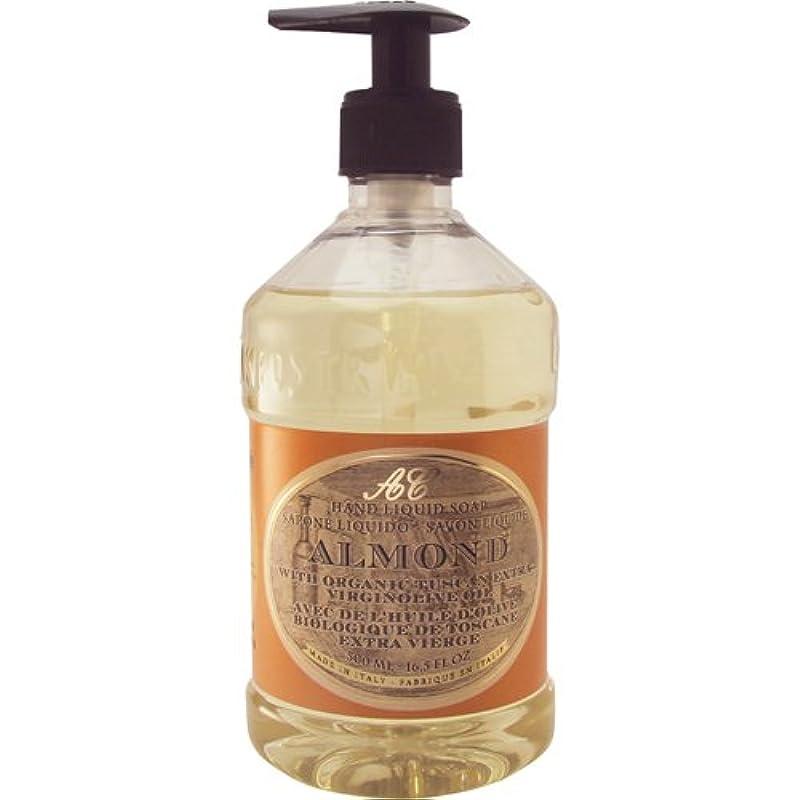 怖がらせる消費者白いSaponerire Fissi レトロシリーズ Liquid Soap リキッドソープ 500ml Almond アーモンドオイル