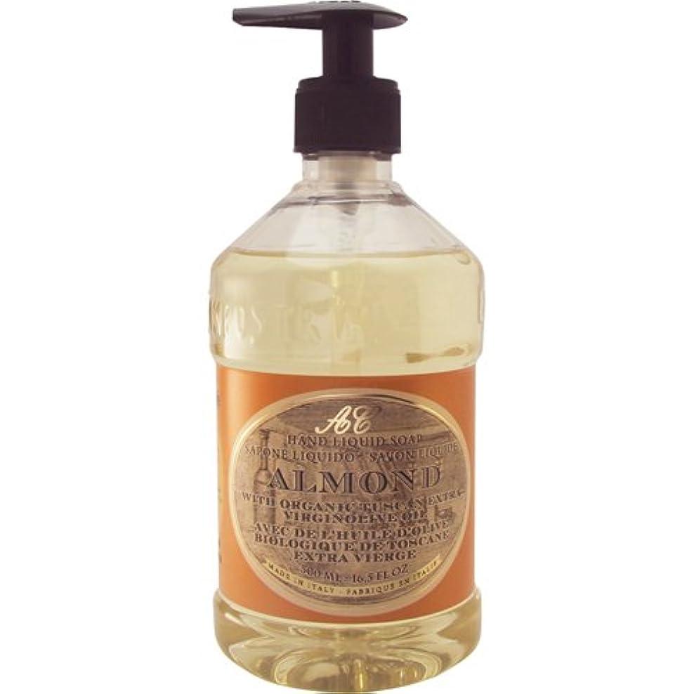 炭水化物ホールドオール違反Saponerire Fissi レトロシリーズ Liquid Soap リキッドソープ 500ml Almond アーモンドオイル