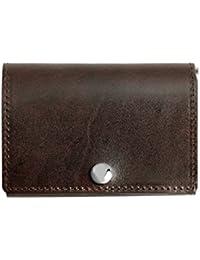 675e621fce0d Dom Teporna Italy 小さい 三つ折り財布 本革 イタリアンレザー 薄型 コンパクト ウォレット サイフ メンズ