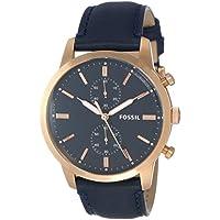 Fossil Men's FS5436 Year-round Analog Quartz Blue Watch