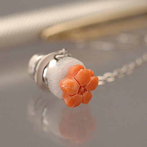 桃色珊瑚 桜 タイタックピン