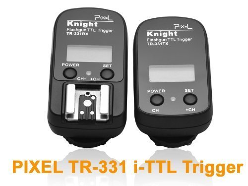 Pixel TR331 I TTL Wireless Flash Trigger Nikon Support 1