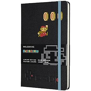 モレスキンノートブック 限定版 スーパーマリオ マリオインアクション ラージ 罫線