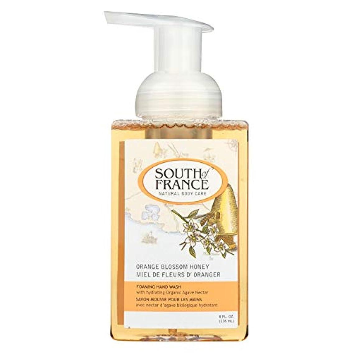 撃退するホステスHand Soap - Foaming - Orange Blossom Honey - 8 oz - 1 each by South Of France