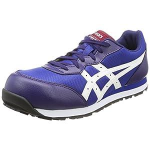 [アシックスワーキング] 安全靴 作業靴 ウィンジョブ インディゴブルー/ホワイト 26.5 cm 3E
