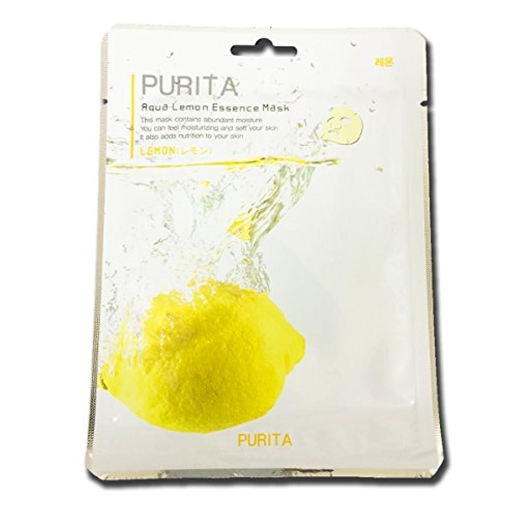 葉っぱ誕生美的PURITA フェイスマスク 1枚 韓国製