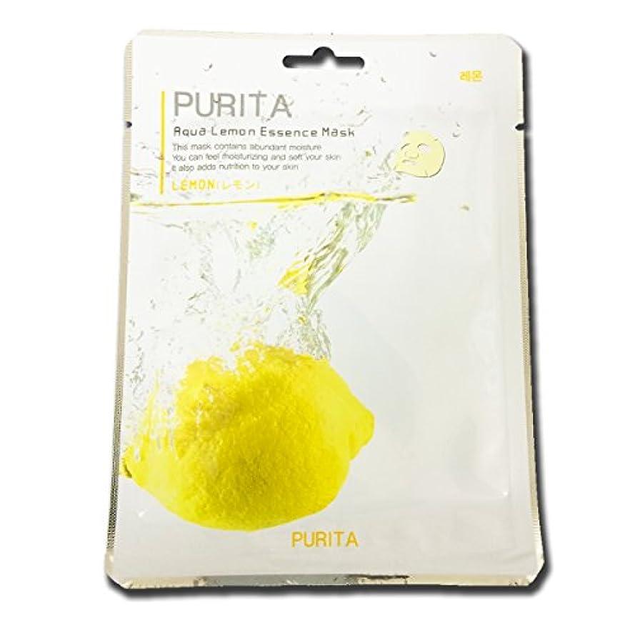 期間生まれ底PURITA フェイスマスク 1枚 韓国製