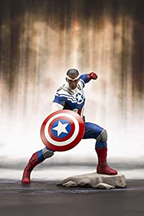 Kotobukiya MK247 マーベルユニバース キャプテンアメリカ サム ウィルソン Artfx+ 像 マルチカラー