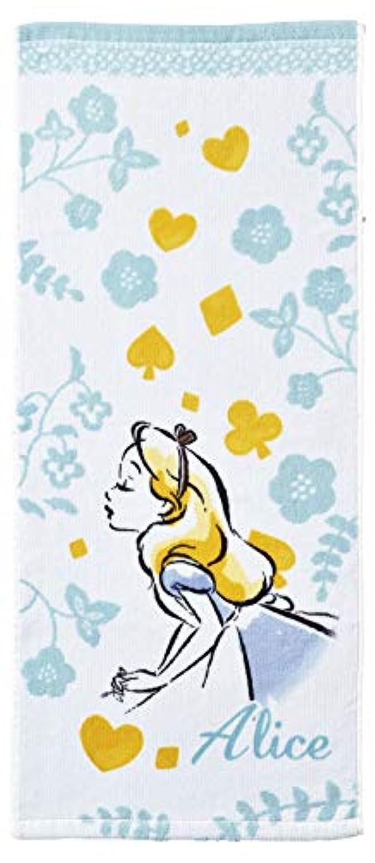 丸眞 フェイスタオル ディズニー ふしぎの国のアリス アリス 約34×80cm ドリーミーワンダー 2005017400
