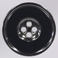 Metal Button(メタルボタン) DM2198F 1個入 18mm BN(ブラックニッケル)