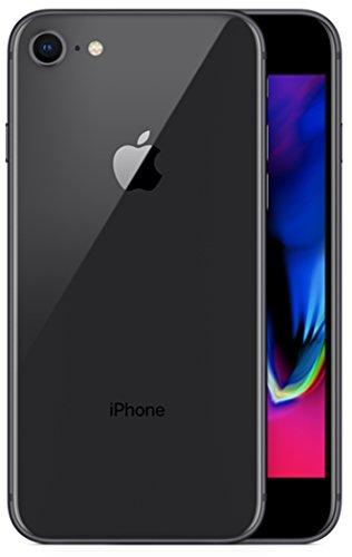 Apple 2017 iPhone 8 SIMフリー 4.7インチ AR対応【米国版SIMフリー】 (256GB, スペースグレー) [並行輸入品]