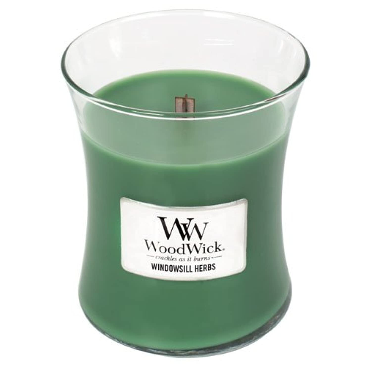吸う音楽家ジュニアYankee Candle Windowsill Herbs Medium Hourglass Candles with Pluswick イエロー 92047