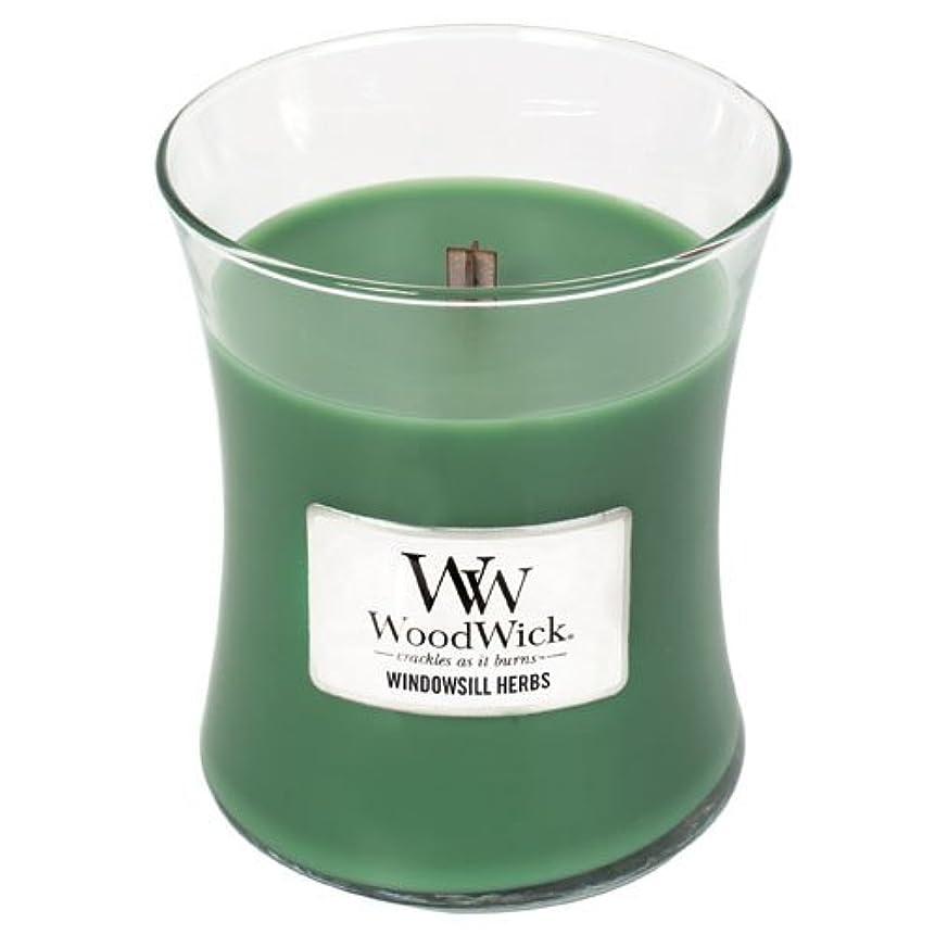 ガイド負荷地球Yankee Candle Windowsill Herbs Medium Hourglass Candles with Pluswick イエロー 92047