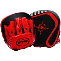 Boxing Focus Pads Hook & Jab Mitts Boxing Training Pads Mma Kickboxing Pad Focus Buildup Training Pads Made of Genuine Leather