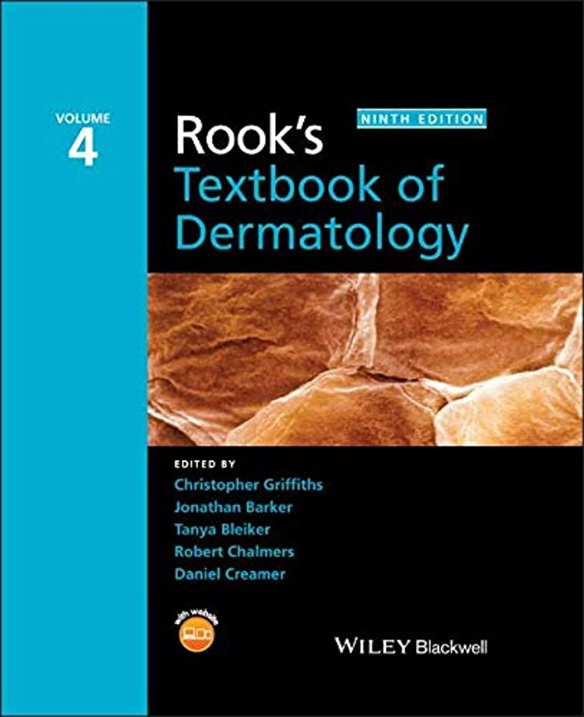 形状サイドボード未接続Rook's Textbook of Dermatology, 4 Volume Set