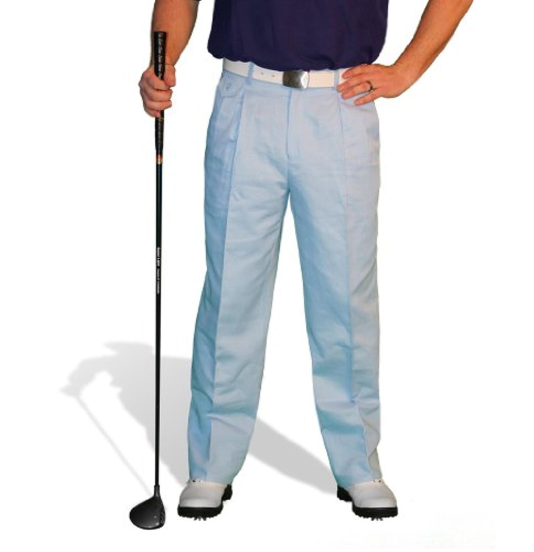 ライトブルーゴルフパンツ – Mens ' Par 4 'コットン