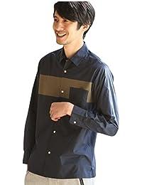 (コーエン) COEN タイプライターチェスト切り替えロングスリーブシャツ 75106028021
