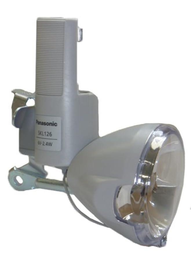 閉じる算術足枷Panasonic(パナソニック) 発電ランプ前照灯 SKL126 グレー