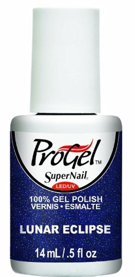 欠如ハング任意SuperNail ProGel Gel Polish - Lunar Eclipse - 0.5oz / 14ml