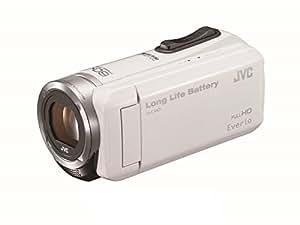 JVC KENWOOD JVC ビデオカメラ EVERIO 内蔵メモリー32GB ホワイト GZ-F100-W