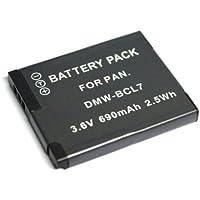 Panasonic バッテリーパック ルミックス DMW-BCL7互換バッテリーDMC-FH10、DMC-SZ9、DMC-SZ3、DMC-XS1