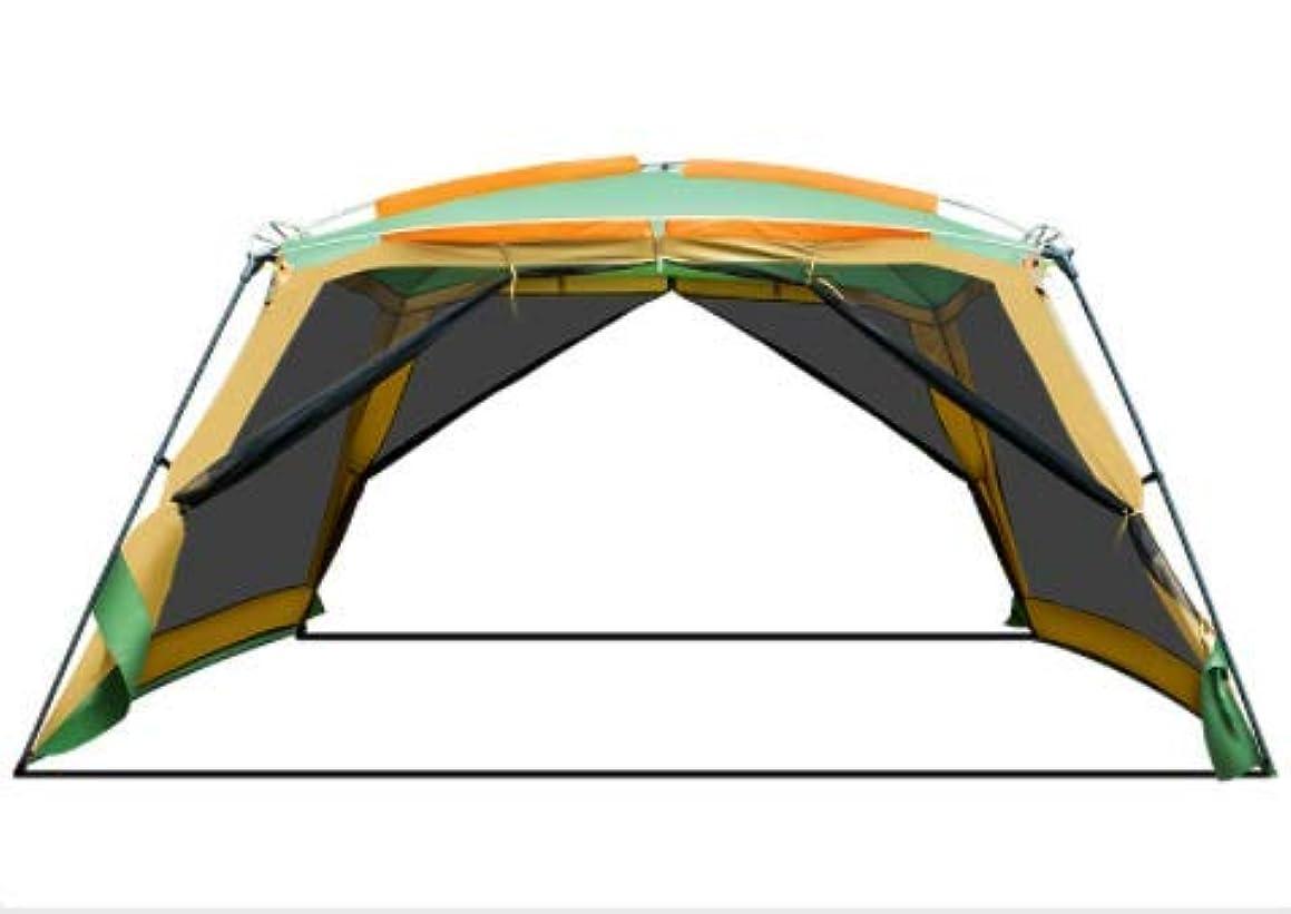 裂け目過度の拮抗Feelyer 大屋外キャンプキャンプピクニックパーゴラ8-10人自動運転バーベキューシェードテントポータブル折りたたみキャノピーテント 顧客に愛されて