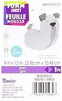 """Foam Sheet 9""""X12"""" 2mm-Grey (並行輸入品)"""