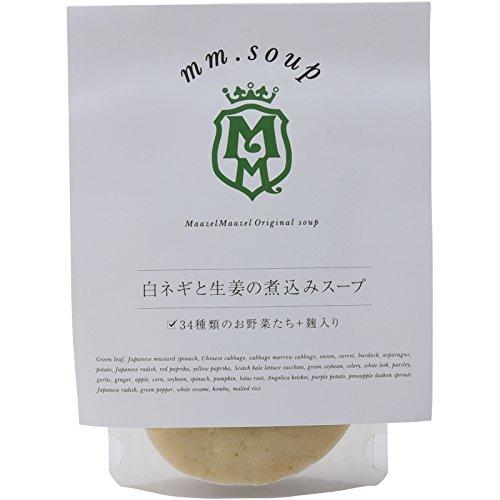 マーゼル マーゼル 白ネギと生姜の煮込みスープ 180ml