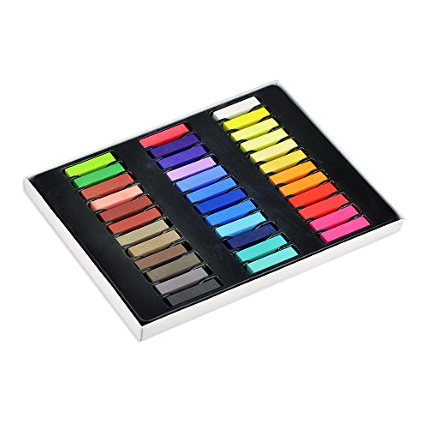 フォージ最小化する市民ヘアカラー ヘアカラー チョーク 髪染め ファッション ヘアチョーク ヘアカラーチョーク Hair color chalk (全36色)