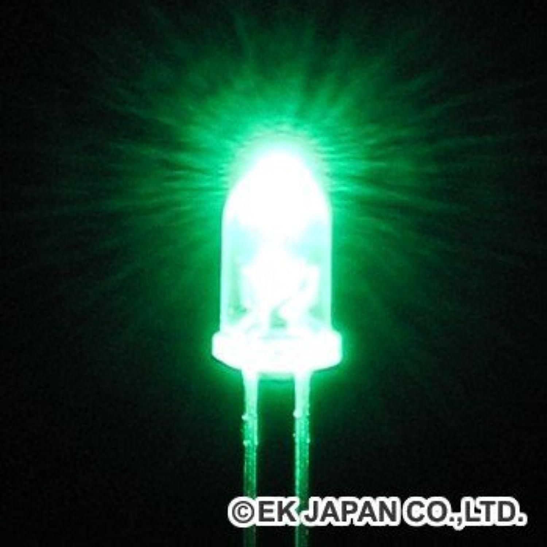 超高輝度LED(緑色?3mm)