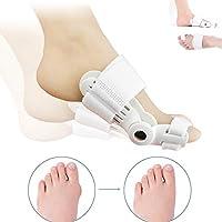 バニオンコレクタ/バニオンスプリント/整形外科バニオンコレクタ/つま先セパレータ再利用可能保護する痛みを伴うバニオンズ女性の為に