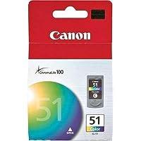 "Canon cl-51高容量カラーインクカートリッジ"" Prod。タイプ:プリンタインクジェット/インクジェットカートリッジ"""