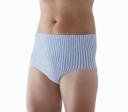 『HASO 紙から生まれた新素材機能性 パンツ+吸水パッド 男性用L~LLサイズ(パンツ5枚+パッド10枚)(ウエスト 75~120cm)』の4枚目の画像