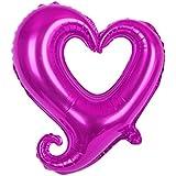18インチ ウェディング 装飾 ハート 花婿 花束 風船 ウェディング パーティー 中空 しっぽ