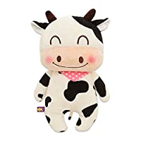 MyToy Anico Collectible Plushおもちゃ、ぬいぐるみ動物、牛、16 Inches Tall
