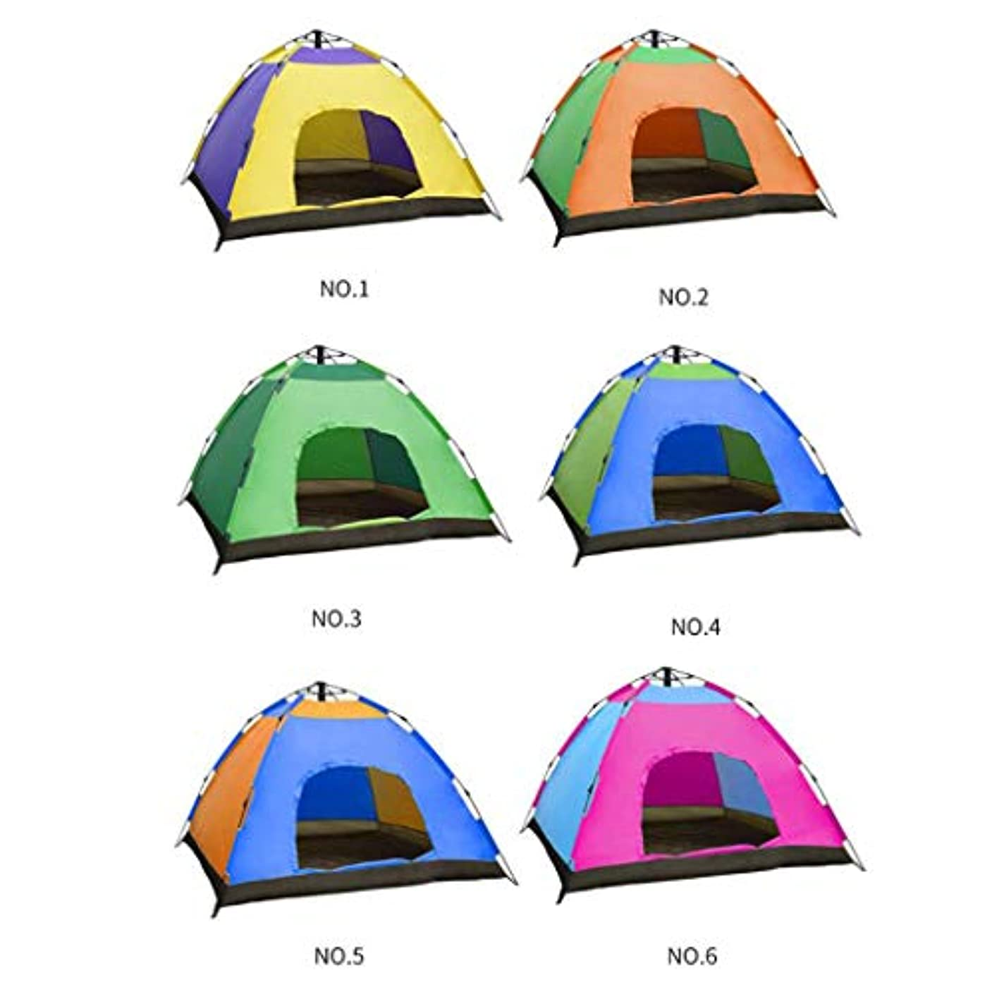草固執資本8-10人自動春テント防雨観光キャンプテント防雨屋外テント