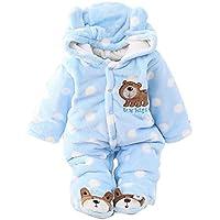 Gaorui Baby-Boys' Jumpsuit Outfit Hoody Coat Winter Rompers Clothing Bodysuit