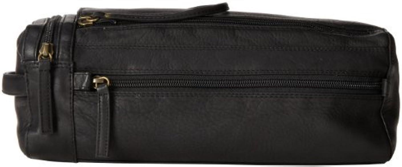 クロス文言リハーサルDerek Alexander Twin Top Zip Shave Kit Black One Size [並行輸入品]
