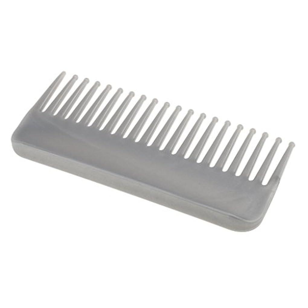 令状知らせる伝染性のプラスチック製の絡みのない広い歯のヘアブラシサロンヘアケアマッサージツール