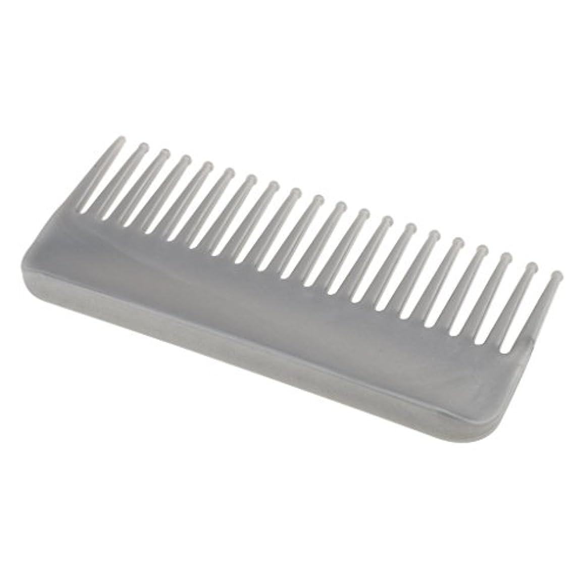 保存するステレオタイプ無視できるプラスチック製の絡みのない広い歯のヘアブラシサロンヘアケアマッサージツール