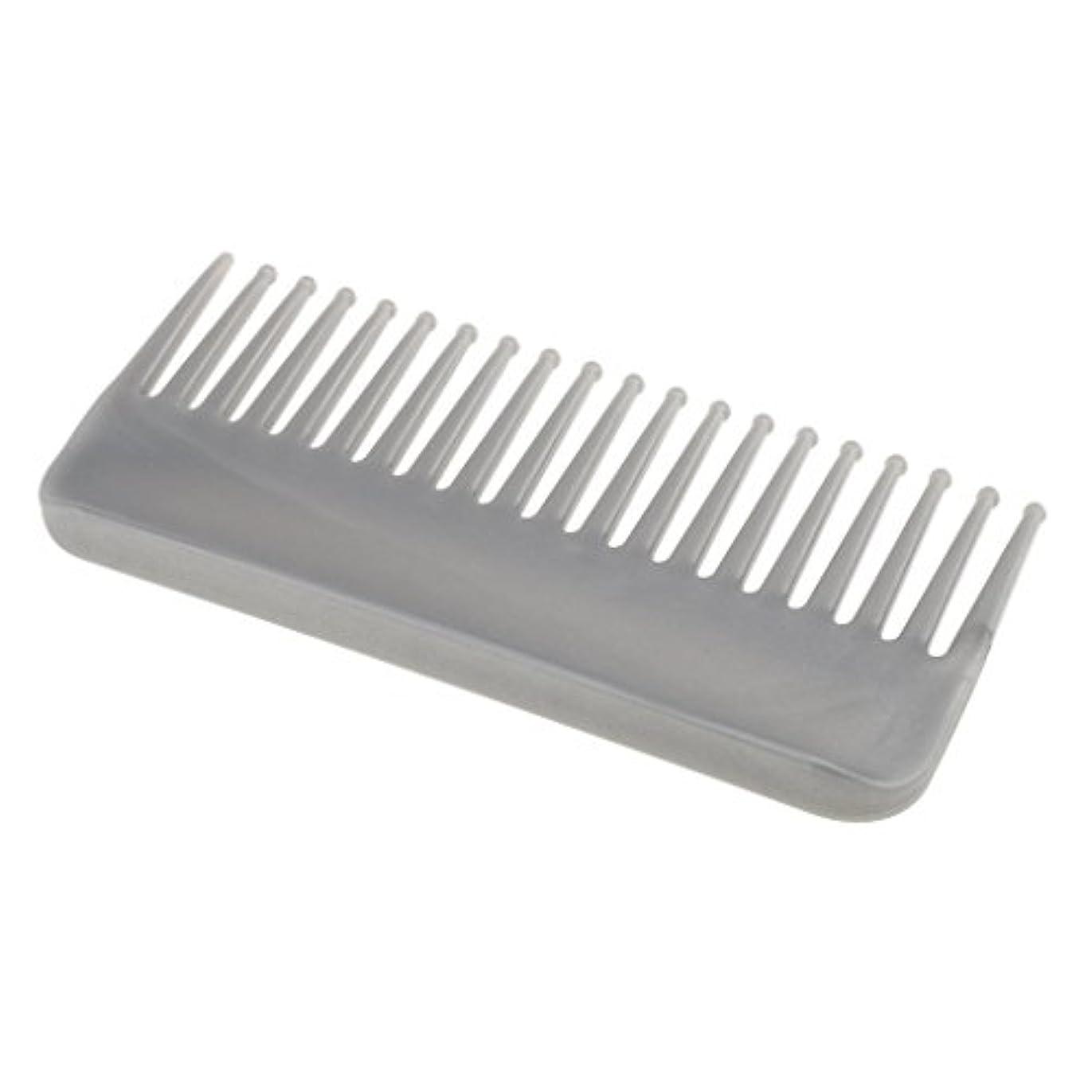アーネストシャクルトン葉巻おしゃれなCUTICATE プラスチック製の絡みのない広い歯のヘアブラシサロンヘアケアマッサージツール