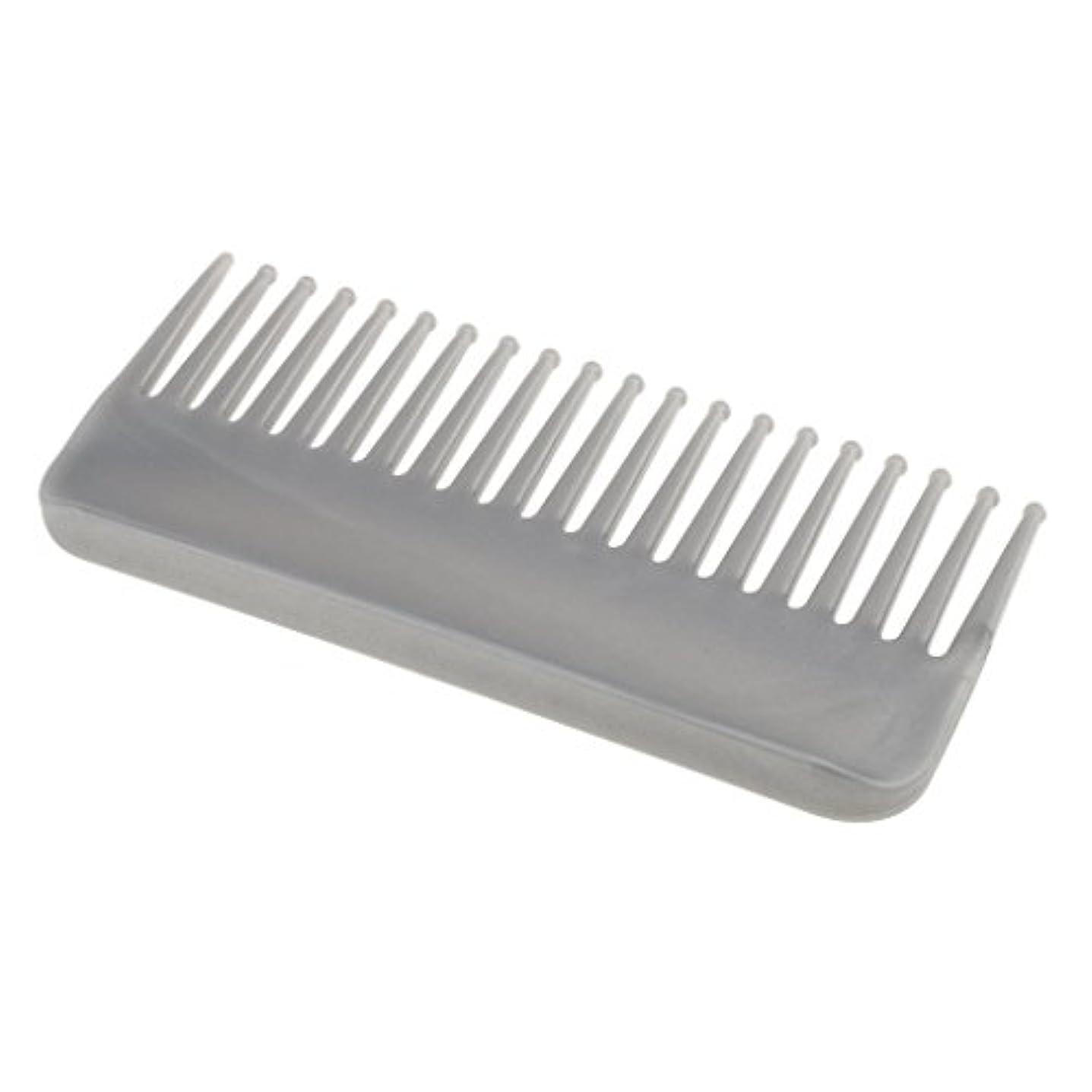 競争力のある眠いです目指すプラスチック製の絡みのない広い歯のヘアブラシサロンヘアケアマッサージツール