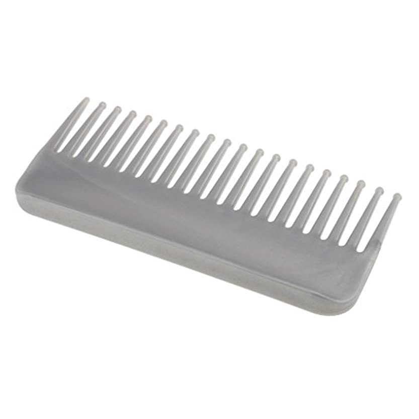 百年倉庫良心的プラスチック製の絡みのない広い歯のヘアブラシサロンヘアケアマッサージツール