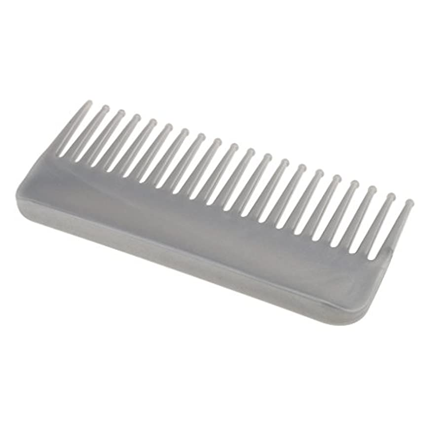 CUTICATE プラスチック製の絡みのない広い歯のヘアブラシサロンヘアケアマッサージツール